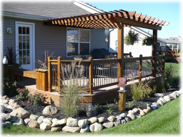 Decks By Design is a local family owned business and has been building decks  & pergolas since 1996. We are your top choice for quality workmanship. - Decks By Design - Custom Deck & Pergola Builder - Fishers