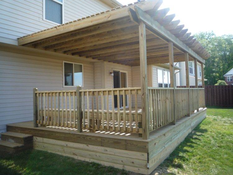 Decks by design deck designs for 10 x 14 deck plans